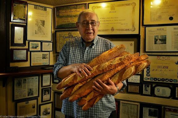 Eduard Boada, Can Boada, especialista en entrepans. 71 anys. Tarragona, Tarragonès, Tarragona