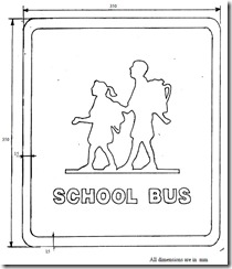 School Bus Insignia