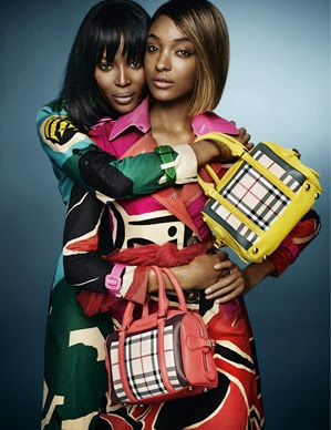 Jourdan Dunn and Naomi Campbell