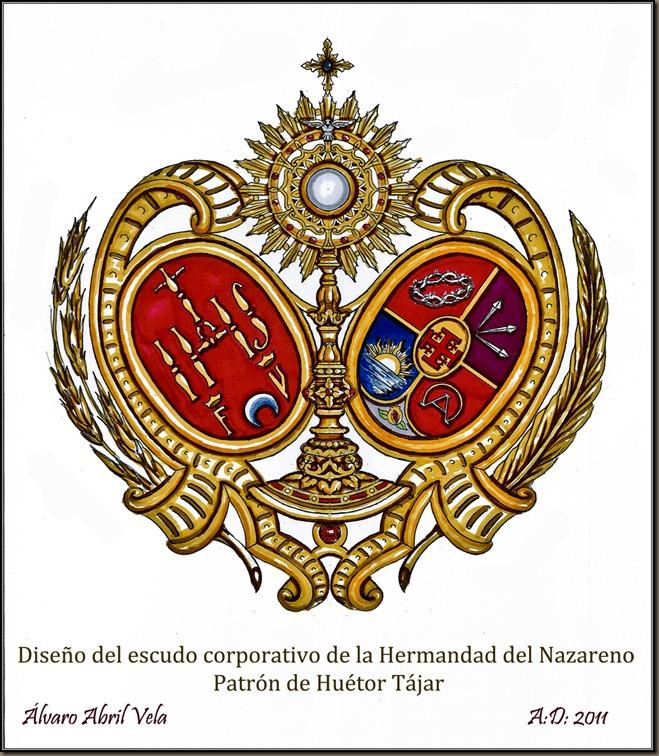 escudo hermandad nazareno huetor tajar alvaro abril 2011 diseños