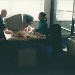 lunch bij de snuffelstage in Hilversum, Noord Holland, Netherlands