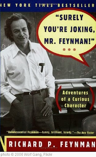 'Richard Feynman: Surely You're Joking' photo (c) 2006, Wolf Gang - license: http://creativecommons.org/licenses/by-sa/2.0/