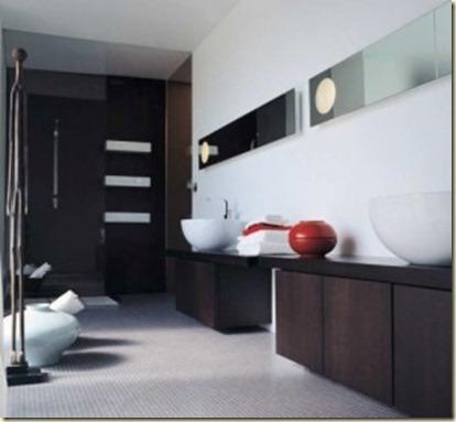 Baños Modernos de Visita8