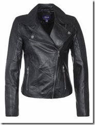 Mexx Black Leather Jacket