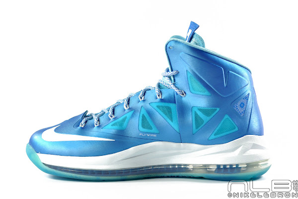 The Showcase Nike LeBron X Sport Pack 8220Blue Diamond8221