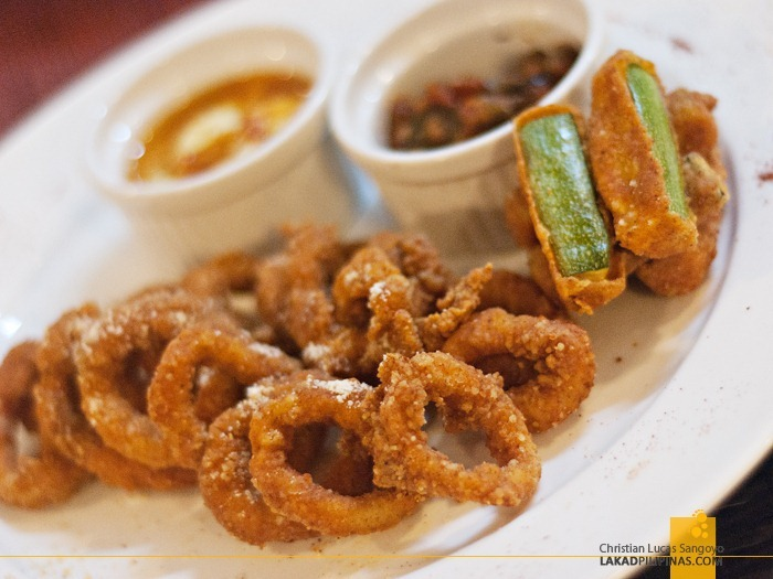 Millie's Calamares Fritos at Microtel MOA