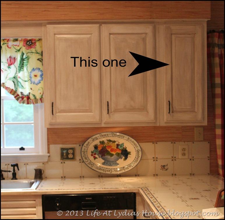 new cabinet above dishwasher