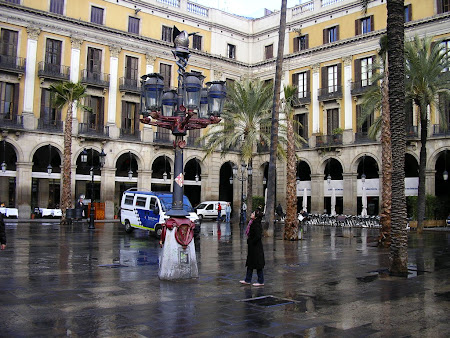 Obiective turistice Barcelona: Piata Regala