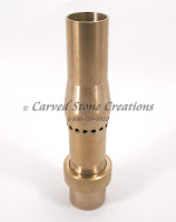 "1"" Brass Multi-Branch Fixed Fountain Nozzle."
