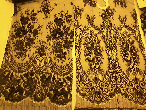Gorgeous lace at B&J Fabrics