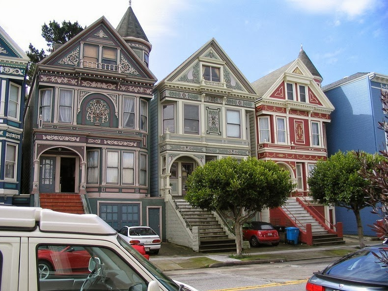 The painted ladies of san francisco amusing planet for Houses in san francisco
