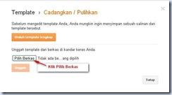Mengganti Template Blogspot_pilih Berkas