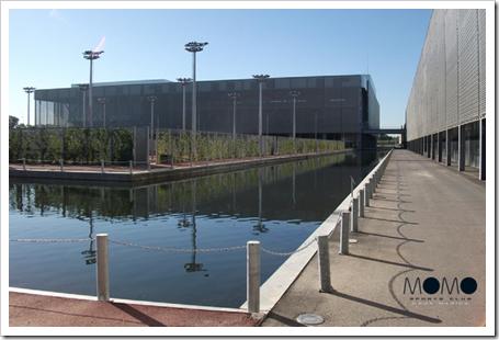 Nuevo Centro Deportivo MOMO La Caja Mágica con apertura después del verano 2014.