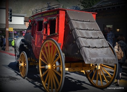 Stagecoach in Jackson Hole, WY