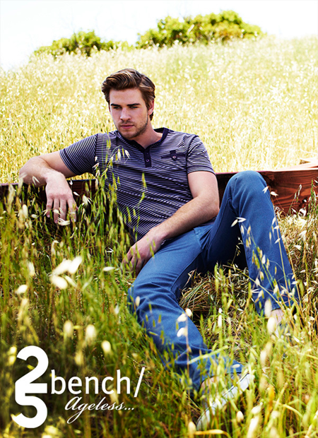 Liam Hemsworth for Bench