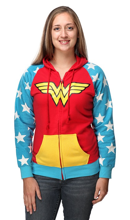Wonder Woman Hoodie from ThinkGeek