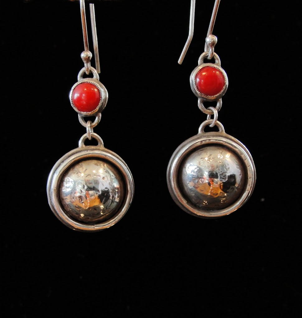 Hammered Domes & Coral - SOLD