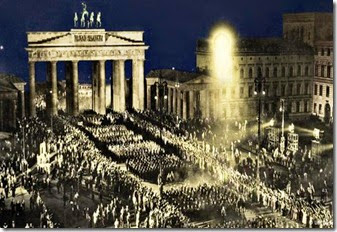 Suasana di Brandenburger Tor 30 Januari 1933