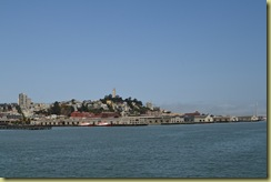 Coit Tower from the sea