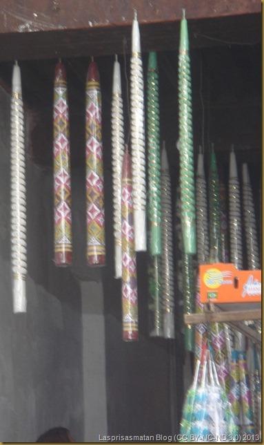 Tienda de velas para ofrecer a Mulay Idrís