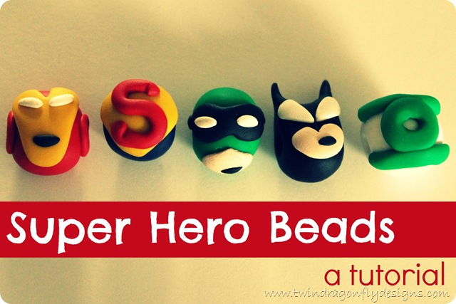 DIY Superhero Beads Tutorial