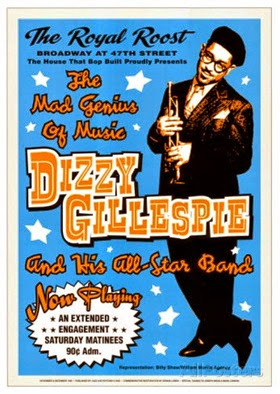 Dizzy Gillespie Orch poster