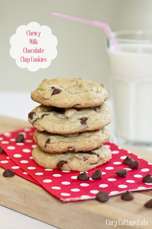 Chewy Milk Chocolate Chip Cookies Labels 2