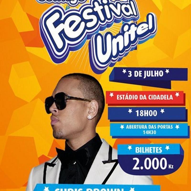 Chris Brown Confirma Show em Angola [Dia 03 de Julho]