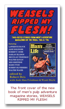 Mens adventure magazines january 2013 the weasels ripped my flesh book is now available fandeluxe Image collections