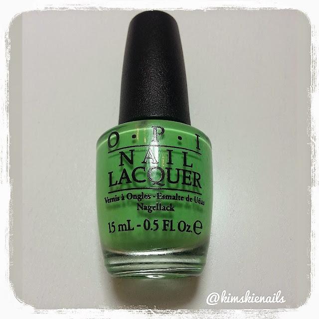 KimsKie\'s Nails: Green