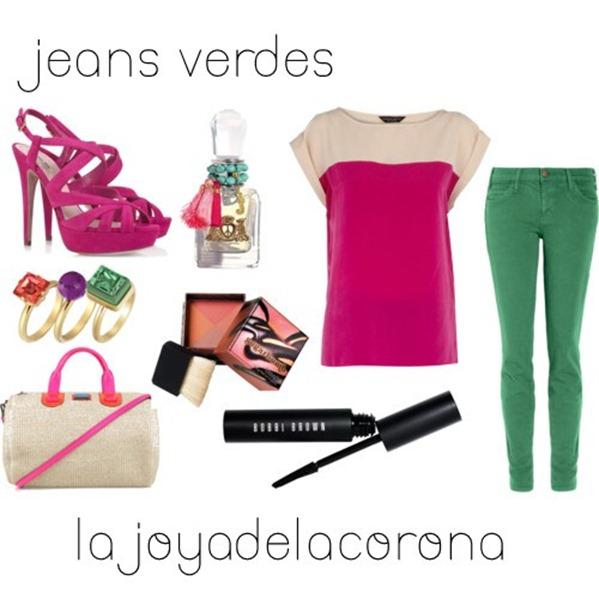 jeans verdes