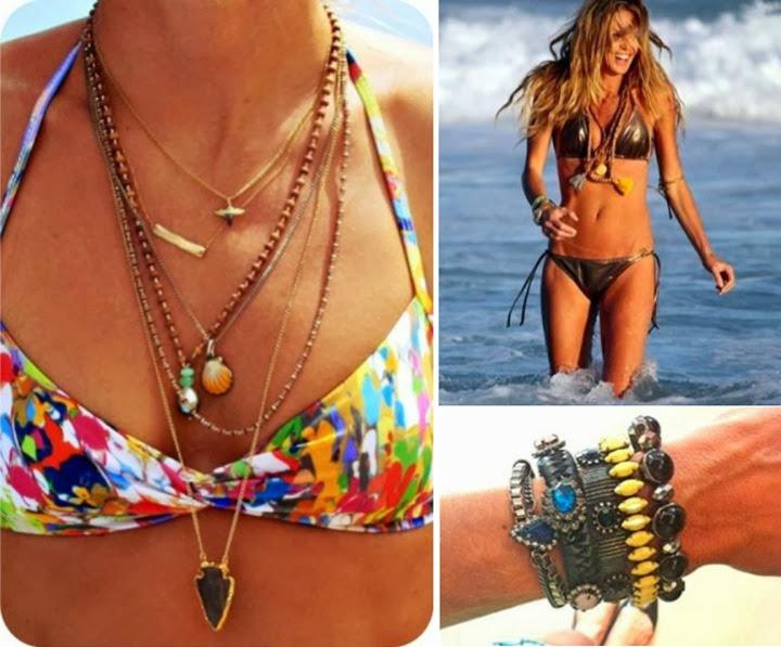 bijoux e acessorios praia