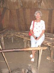 Plimoth Plant inside Shirley inside indian summer house