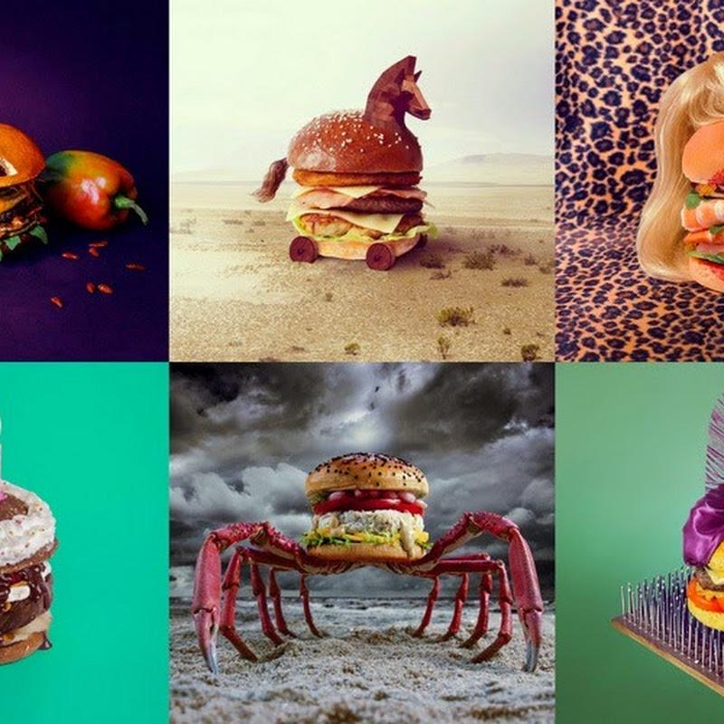 Creative Burger Designs By Fat & Furious Burger