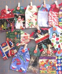 2011 advent fabric calendar strung1
