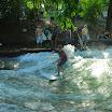 Munich en Bavière - Jardin anglais - Surf sur la rivière Eisbach
