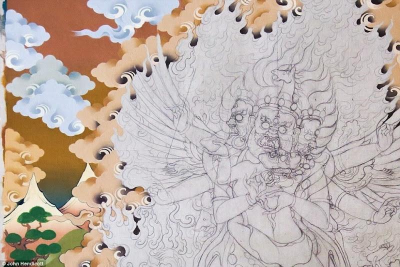 Phóng sự - phóng sự ảnh - Phật giáo thế giới - Người Áo Lam - 004