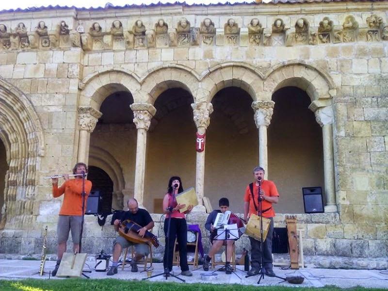 Concierto de La Bojiganga en Sotosalbos