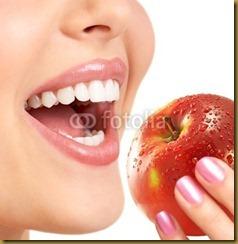 maçã.boca