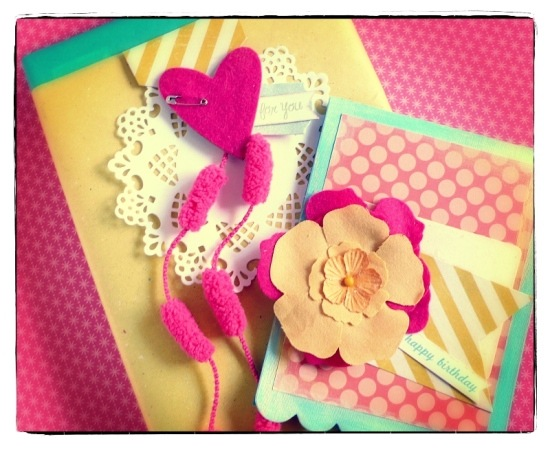 cafe creativo - big shot sizzix - card fiore