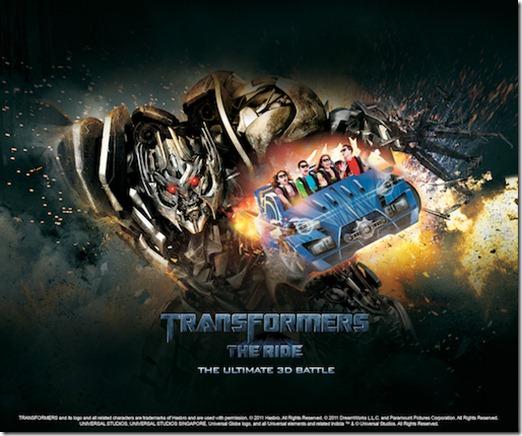 Transformer the Ride - Universal Studios Singapore