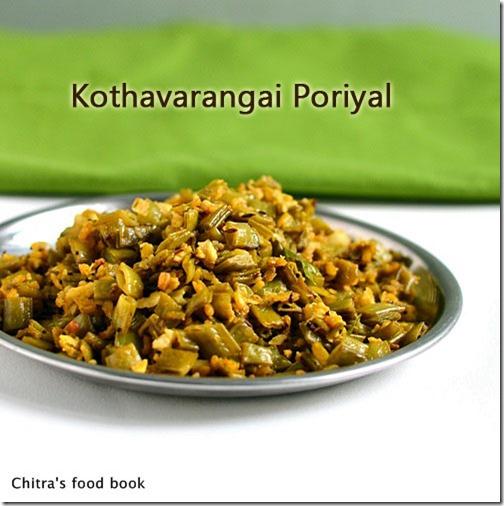 Kothavarangai-poriyal