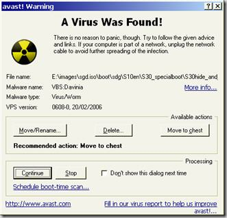 virus test file