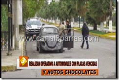 IMAG. REALIZAN OPERATIVO DE AUTOMOVILES CON PLACAS VENCIDAS Y AUTOS CHOCOLATE.mp4_000006906