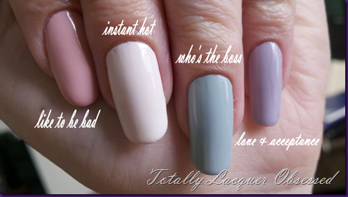 essie wedding 2012 swatch edit