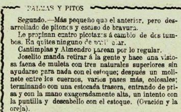 1915-08-01 Santander Reseña Palmas y Pitos