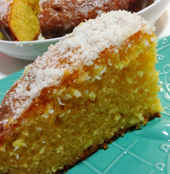 Whole Orange Cake - Slice