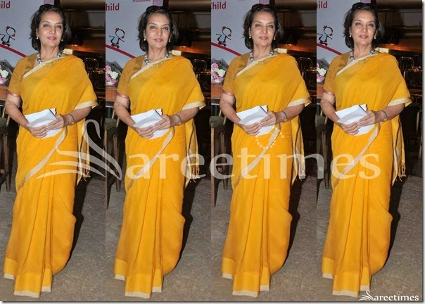 Shabana_Azmi_Yellow_Saree