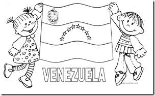 BANDERA VENEZUELA COLOREAR JUGARYCOLOREAR 1