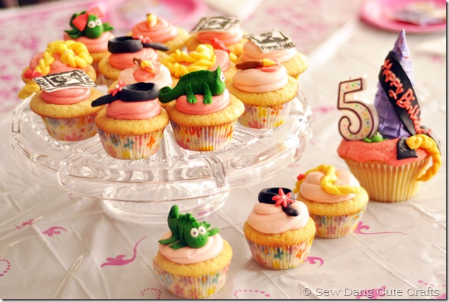 Rapunzel-cupcakes